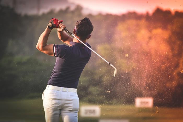 codo golfista